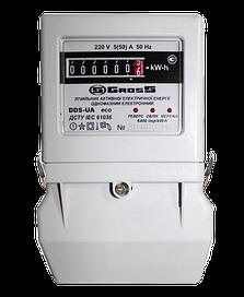 Лічильник електрики GROSS DDS-UA eco 1.0 5 (50) A, фото 2