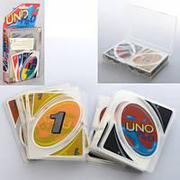 Настольная игра 2344-2, UNO, карточки, в слюде, 11-20-2, 5см