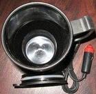 Термокружка Electric Mug автомобильная кружка от прикуривателя 450 мл, фото 2