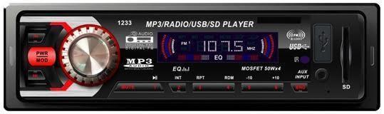 Магнитола бюджетная без CD привода МР3 Pioner SP-1233 автомагнитола