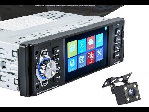 """Автомагнитола в машину  4022B экран 4.1"""" MP5+USB+Sd+MMС,Bluetooth, камера заднего вида, TV"""