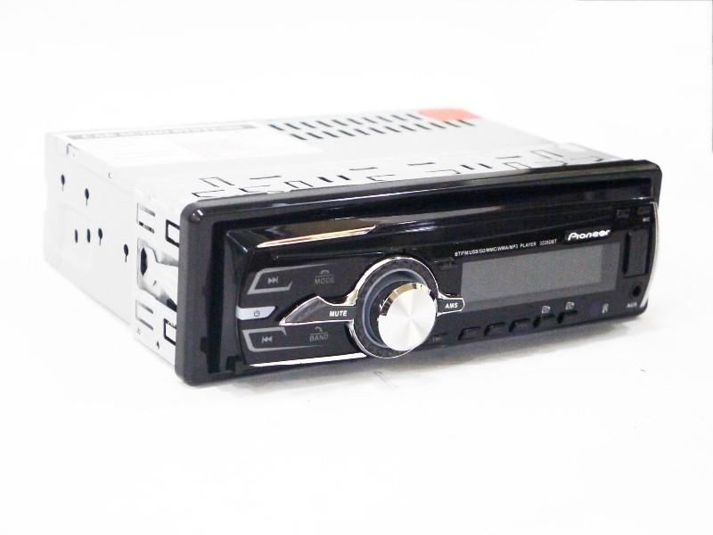 Автомагнитола Pioneer 3312D Usb+RGB подсветка+Fm+Aux+ съемная панель