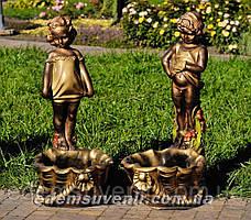 Садовая фигура Саша и Маша