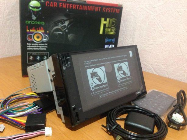 Автомагнитола 1DIN (2DIN-экран) 6503-TU Android GPS (без диска)