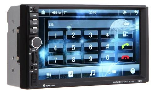 Магнитола Pioneer 7012 USB, FM, Bluetooth короткая, фото 1
