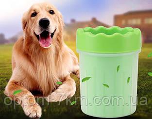 Стакан для мытья лап  Soft pet foot cleaner S