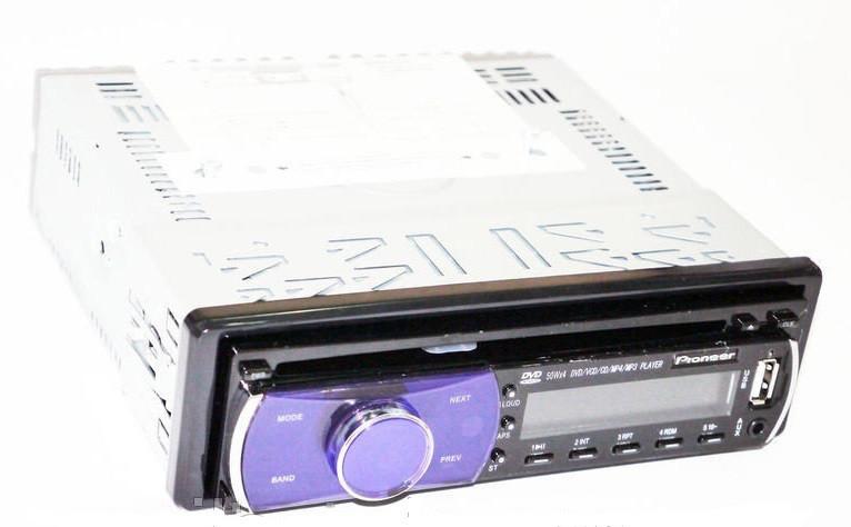 Автомагнитола с пультом Pioneer DEH-5250SD с USB, SD, AUX, FM, DVD съемная панель