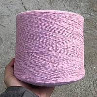 Пряжа Angora70, розовый (70% ангора, 10% меринос, 20% ПА; 800 м/100 г)