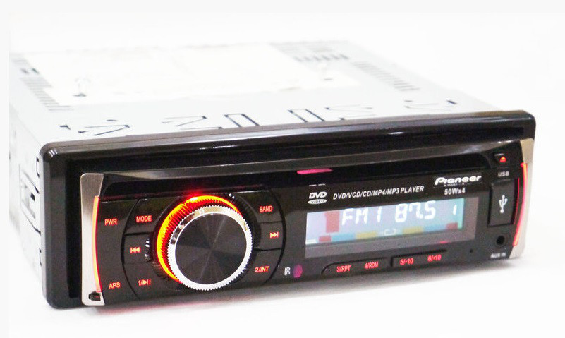 Магнитола DVD автомобильная USB+SD+AUX+FM Pioneer DEH 8400UBG многофункциональная