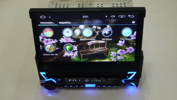 1DIN Магнитола  9505 GPS+Android 5.1+Wi-Fi+1Gb/16Gb+Bluetooth
