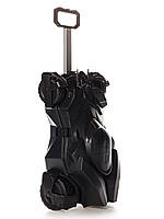 Чемодан на колёсах машинка Batmobile чёрный, «Ridaz» (91007W-Black)
