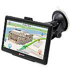 """GPS Навигатор EL7008  7"""" Автомобильный оснащен FM-трансмиттером автонавигатор, фото 3"""
