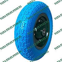 Колесо для тачки 3.50-7 пенополиуретановое (проколобезопасное), под ось 20 мм