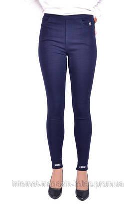 Котоновые  лосины джинсовые на байке , фото 3