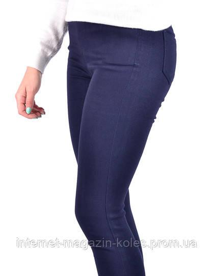 Котоновые  лосины джинсовые на байке