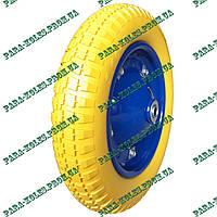 Колесо для тачки 3.00-8 пенополиуретановое (проколобезопасное), под ось 16 мм