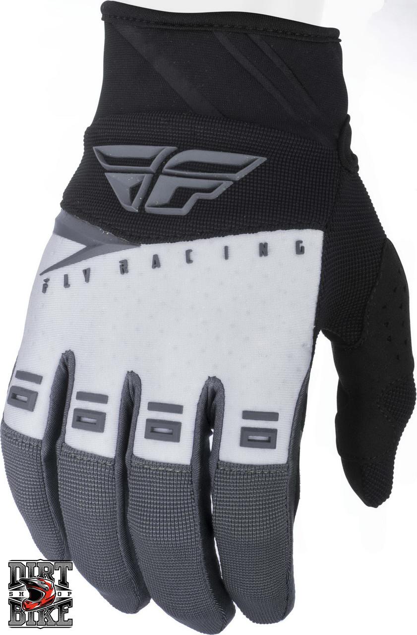 Мото перчатки FLY F-16 Black/White/Grey 06