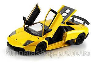 Машинка р/у 1:18 Meizhi ліценз. Lamborghini LP670-4 SV металева (жовтий)