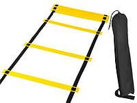 Координаційна драбина для тренування, сходи, доріжка для спорту, скоростная координационная лестниц, фото 1