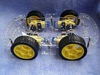 4-х колесное шасси с двигателями
