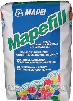 Розчин анкеровочный цементний високотекучій безусадочний Mapei Mapefill уп.25кг,Харків, фото 2