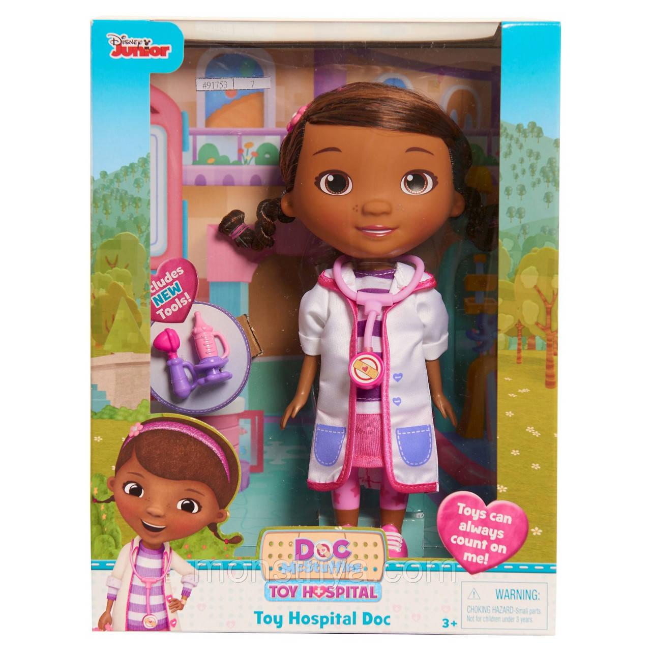 Кукла Доктор Плюшева/ Doc McStuffins
