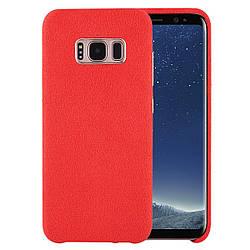 Чехол Samsung Alcantara для Galaxy S8 Plus Красный