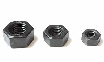 Гайка шестигранная М14 ГОСТ 5915-70, ГОСТ 5927-70, DIN 934, класс прочности 10.0, фото 2