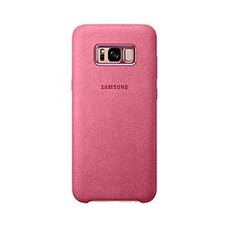 Чехол Samsung Alcantara для Galaxy S8 Plus Розовый