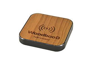 Беспроводная зарядка WoodbooD Standart Black (WSB444)