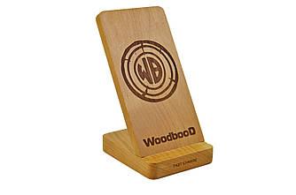 Беспроводная зарядка WoodbooD Wood holder (WWH666)