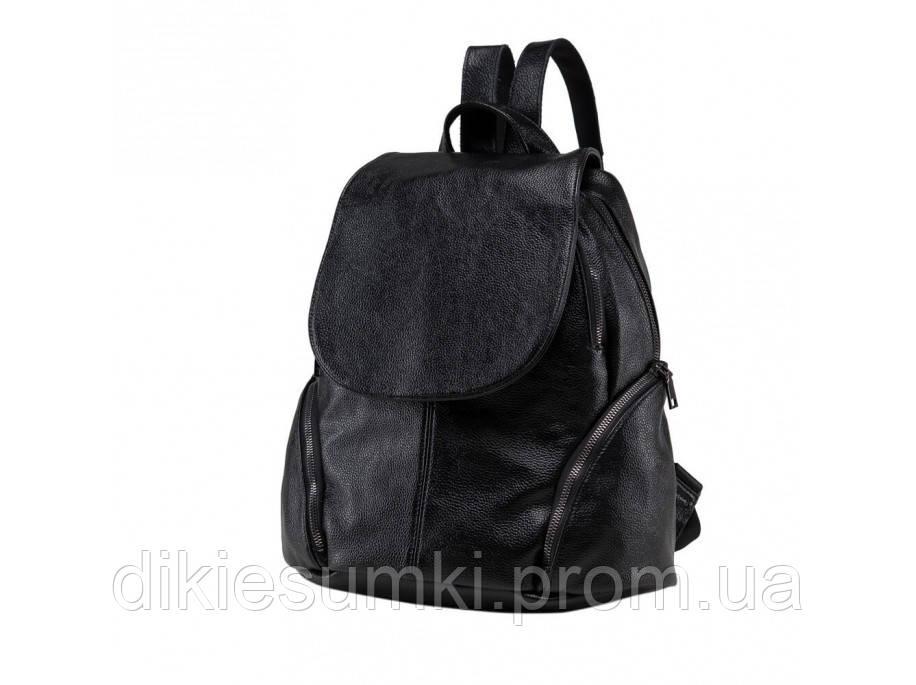 75c17237c296 Женский кожаный рюкзак OLIVIA LEATHER черного цвета NWBP27-8824A-BP. 1 000  грн. В наличии. Купить