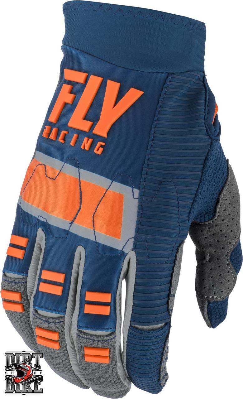 Мото перчатки FLY Evolution DST Navy/Grey/Orange 08