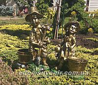 Садовая фигура Огородник и Огородница, фото 1