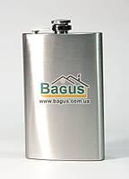 Фляга для алкогольных напитков 240мл из нержавеющей стали с матовой полировкой Dynasty DYN-10209
