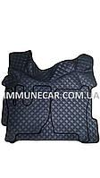 Автомобильные ковры экокожа VOLVO FH 12-16 МКП темно-серые 2008-2013 Т01