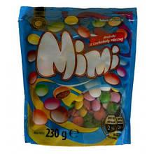 Разноцветные драже Mimi из молочного шоколада 230г Польша