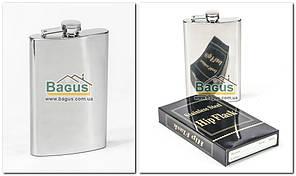 Фляга для алкогольных напитков 250мл из нержавеющей стали с зеркальной полировкой Dynasty DYN-10310