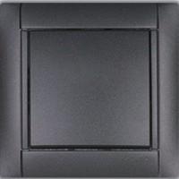 Розетки и выключатели Simon 34 графитовый металлик Испания