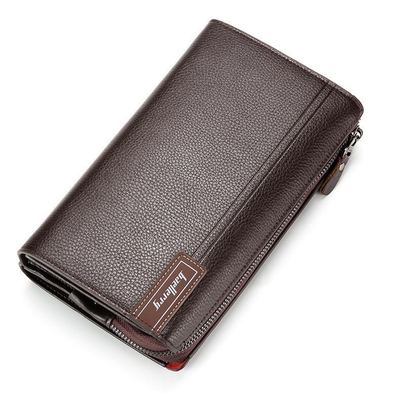 Мужской кошелек портмоне Baellerry коричневый опт