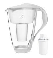 Фільтр-глечик Dafi Crystal Glass 2.0 LED Classic Білий (J590254WT)