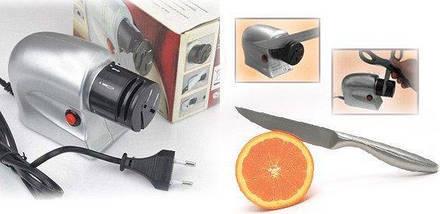 Электрическая точилка для ножей и ножниц Sharpener, универсальная точилка Акция!, фото 2