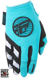 Мото перчатки  FLY KINETIC Blue/Black S
