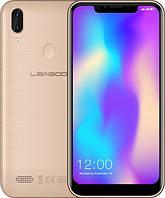 "Leagoo M11 6.18"" Gold  2/16Gb 4000mAh + чехол"