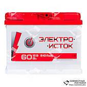 Аккумулятор Электроисток 60 А.З.Е. с круглыми клеммами | R, EN510 (Европа)