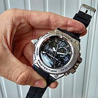 Спортивные часы Casio G-Shock GLG 1000 silver black