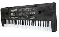Детский орган синтезатор пианино Радио, 61 клавиша Работает от сети и батареек