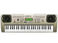 Пианино синтезатор от сети с микрофоном , фото 1