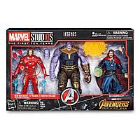 Набор фигурок: Железный человек, Танос, Доктор СтренджВойна бесконечности HasbroMarvel's Avengers, фото 1