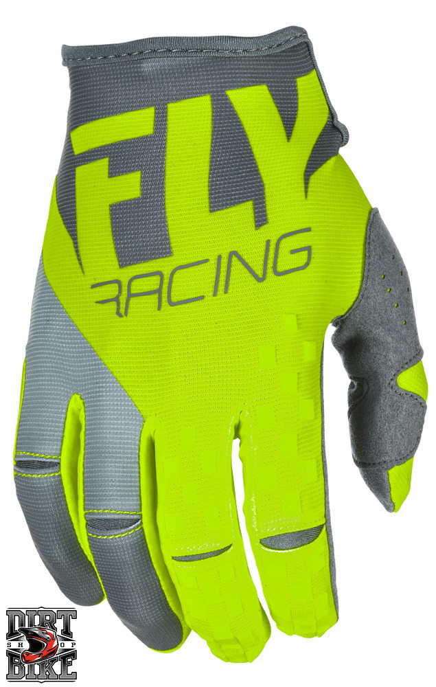 Мото рукавички FLY KINETIC Hi-Vis/Grey XXL